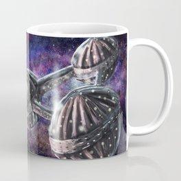 Galaxy Spaceship Coffee Mug