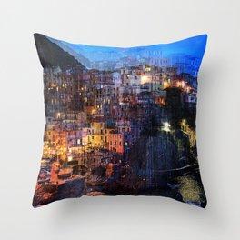 Dream Holidays Throw Pillow