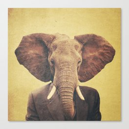 Humanimal: Elephant Canvas Print