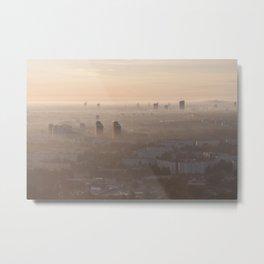 metropolis awakes Metal Print