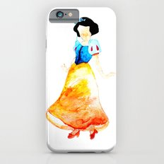 Snow White, Snowdrop, watercolor, girl iPhone 6s Slim Case