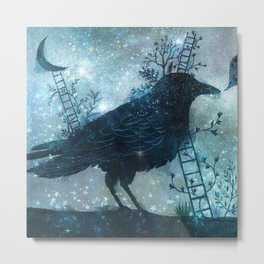 Bird Dream Metal Print