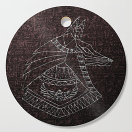 Anubis Egyptian God Cutting Board