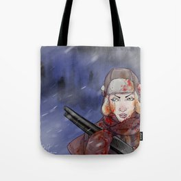 A Cold Day in Hell Tote Bag
