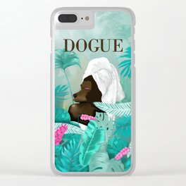 Dogue - Spring Clear iPhone Case
