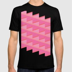 Pink Ascent Black Mens Fitted Tee MEDIUM