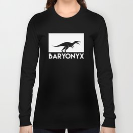 Baryonyx Dinosaur Long Sleeve T-shirt