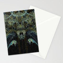 Mosaik Fraktal Galaxis Stationery Cards