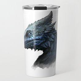 Sapphire Dragon Travel Mug