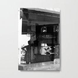 HongKong - Big Fish in Small Town Metal Print