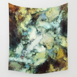 Escaping horses Wall Tapestry
