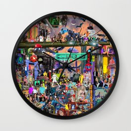 Here's to 2017: The Mashup Wall Clock