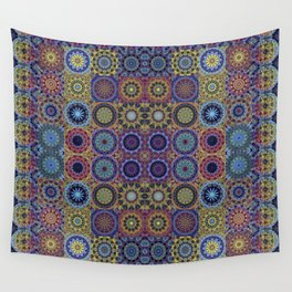 Mandala Sampler Wall Tapestry