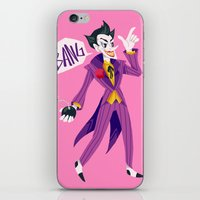 the joker iPhone & iPod Skins featuring Joker by MalevolentMask
