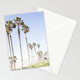 Palm Trees Swaying in the Breeze Stationery Cards