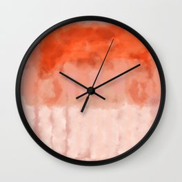 Enveloping lines flexible divisions Wall Clock