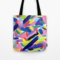 glee Tote Bags featuring Glee by Ink and Paint Studio