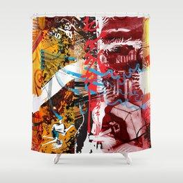 Exquisite Corpse: Round 5 Shower Curtain