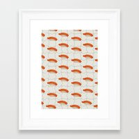 sushi Framed Art Prints featuring Sushi by [Oxz]