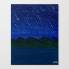 Evening Showers Canvas Print