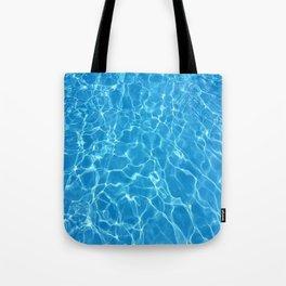 pool water Tote Bag