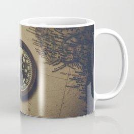 The old compass Coffee Mug