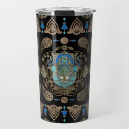 Hamsa Hand -Hand of Fatima Ornament Travel Mug