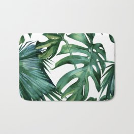 Simply Island Palm Leaves Bath Mat