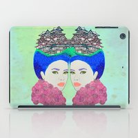 japan iPad Cases featuring Japan by Luna Portnoi