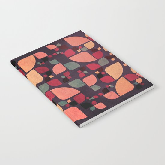 Vintage Butterflies Pattern Notebook