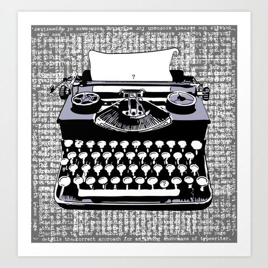 tyPOLOgy Art Print