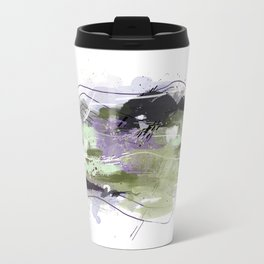Abstract Five Travel Mug