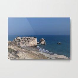 Aphrodite's Rock (Cyprus) Metal Print