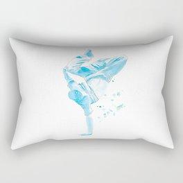 The Breakdancer Rectangular Pillow