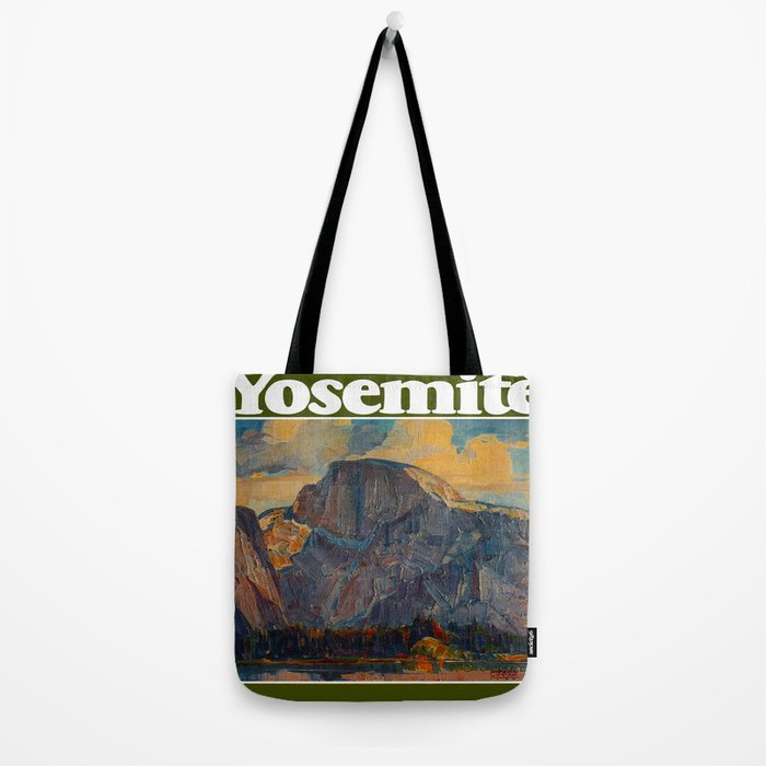 Vintage Yosemite National Park Tote Bag