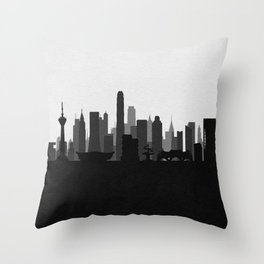 City Skylines: Chengdu Throw Pillow