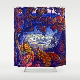 Samuel Palmer Weald of Kent Shower Curtain