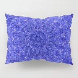 Cosmos Mandala II Cobalt Blue Pillow Sham
