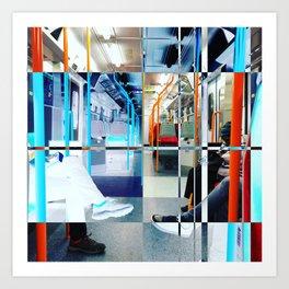 London Underground 2017 Art Print