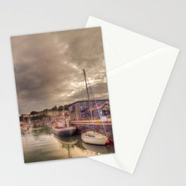 Porthmadog Harbour at Dusk Stationery Cards
