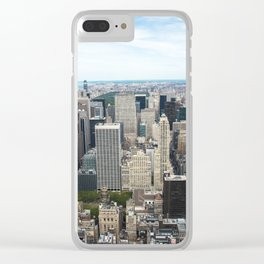 Empire State Clear iPhone Case