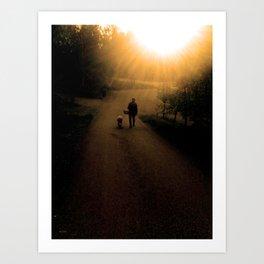 Prekrasnyy denʹ Art Print