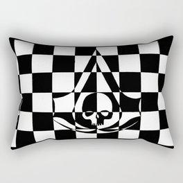 Black Flag Rectangular Pillow