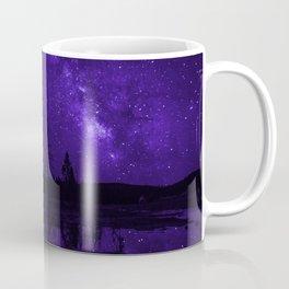 Milky Way Over Fire Hole Lake Coffee Mug