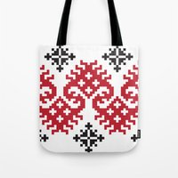 folk Tote Bags featuring folk by muminn