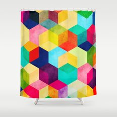Hexa Shower Curtain