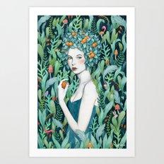 Selva Art Print