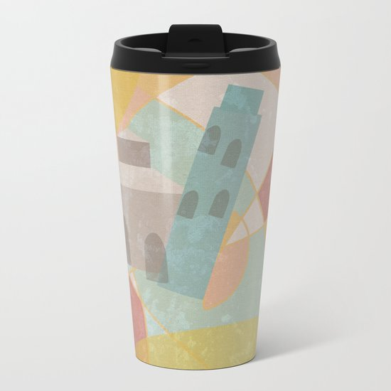 Pisa Metal Travel Mug