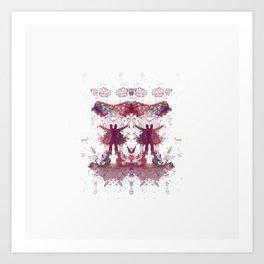 Inknograph XXIV - Rorschach Art Art Print