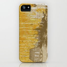 House in an Aspen Clearing iPhone Case